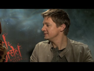 Yesenia Hansel & Gretel 3D Witch Hunters Jeremy Renner Gemma Arterton Interview