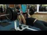 Ткаченко Артем. Жим 170 кг узким хватом. весовая до 90 кг. подготовка к КУ UPA 2013